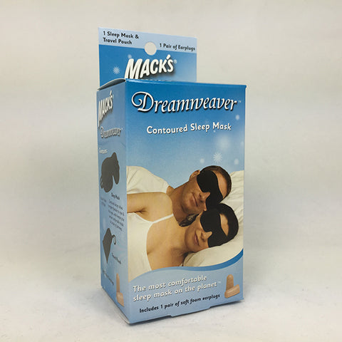Mack's Dreamweaver Contoured Sleep Mask, 1ct 033732020343T341