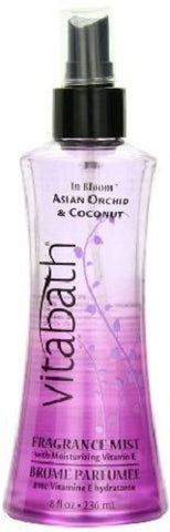 Vitabath Fragrance Mist, Asian Orchid and Coconut, 8oz 046936560584A630