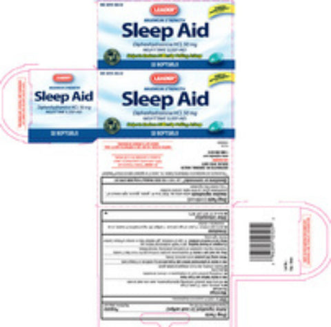 Leader SleepTime Softgels, 25mg, 12ct 096295125092A234