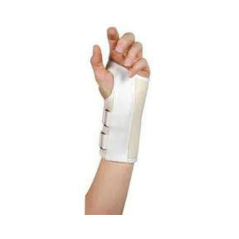 Leader Deluxe Carpal Tunnel Supp. White, Left, XL, 1ct 096295124361S824