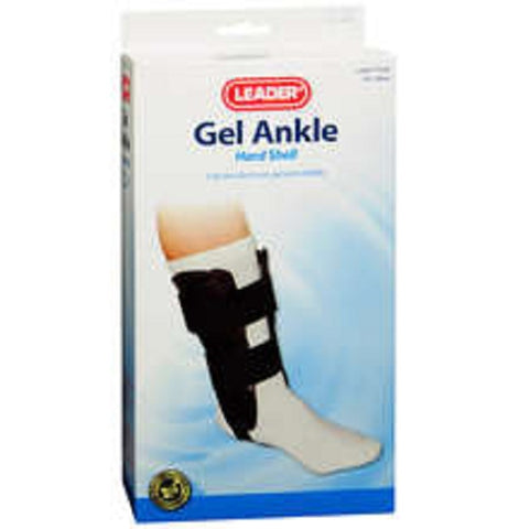 Leader Gel Ankle Brace, Black, Universal Fit, 1ct 096295124958S1500