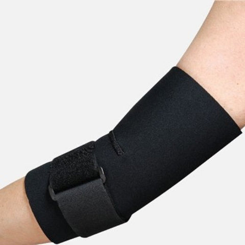 Leader Tennis Elbow Support w/Strap, Black, Small, 1ct 096295124576S776