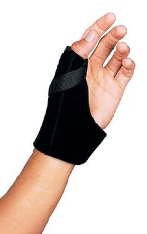 Leader Neoprene Thumb Brace Black Small/Med, 1ct 096295124422S788