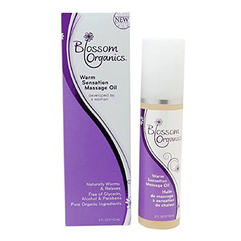 Blossoms Organics Massage Oil, 3oz 016169530319S795