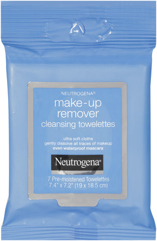 Neutrogena Make-Up Remover Cloths, Travel Size, 12X7ct 070501451052A2513