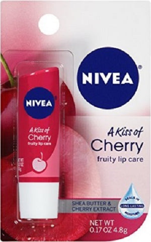 Nivea Cherry Lip Balm, 1ct 072140013080E182