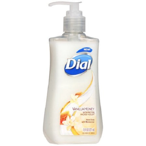Dial Hand Soap Liquid, 7.5oz, Vanilla Honey 017000092614C186