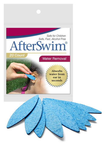 AfterSwim Water Removal, 20ea 859911004009T270