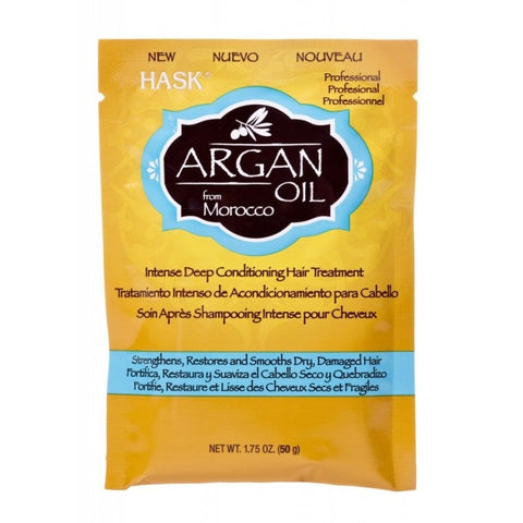 Hask Argan Oil Deep Conditioning Packets, 12ct 071164333062A1575