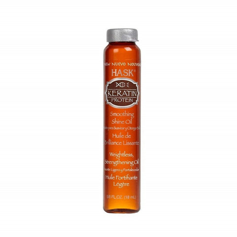 Hask Keratin Protein Smoothing Shine Oil, 18mlX12ct 071164323773A1632