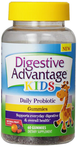 Schiff Digestive Advantage Kids Probiotic, Gummies, 60ea 020525901248T1104