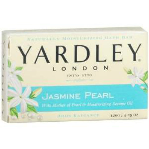 Yardley London Bar Soap, Jasmine Pearl, 4.25oz 041840829895A083
