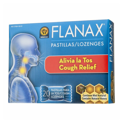 Flanax Cough Lozenges with Natural Honey, 20ct 853030002113S164