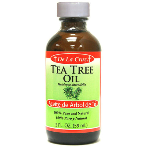 De La Cruz Tea Tree Oil, Natural & Pure, 2oz 024286152628S664