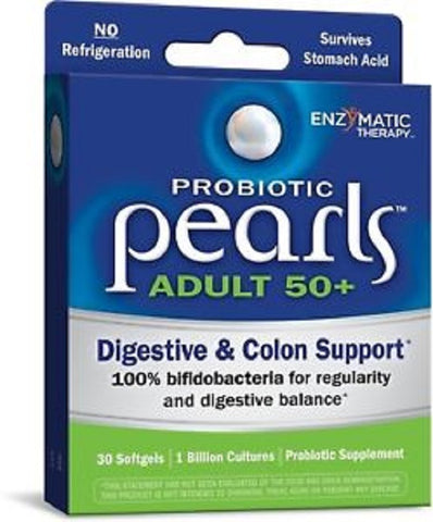 Probiotic Pearl Adult 50+ Digestive Colon Support 30ct 763948102174T1100