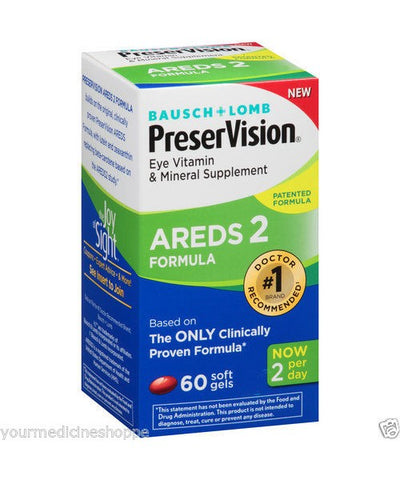 PreserVision Areds 2 Vitamin & Mineral Softgels, 60ct 324208697603A1400