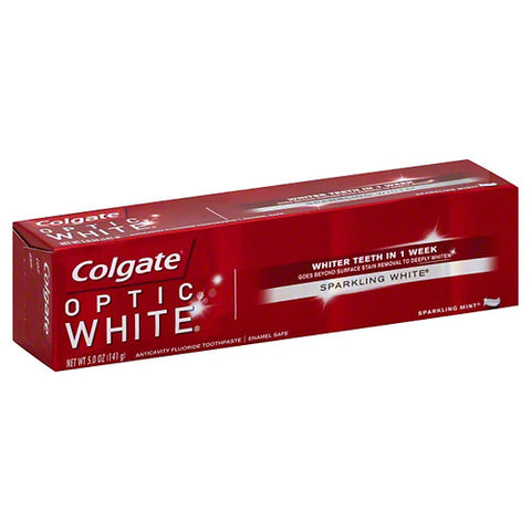 Colgate Optic White Toothpaste, Sparkling Mint, 5oz 035000763785T358