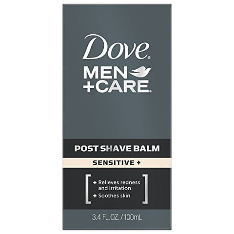 Dove Men + Care Post Shave Balm, Sensitive, 3.4oz 011111260092S506