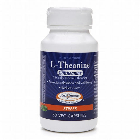 Enzymatic Therapy L-Theanine, Vegetarian, 60ct 763948095568T1025