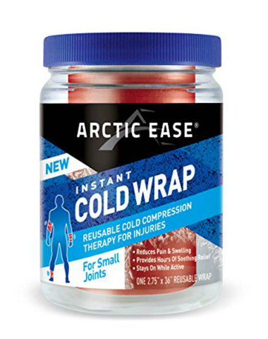 Arctic Ease Cold Wrap, Small Joint Red, 2.75x36in, 1ea 853867002409S511