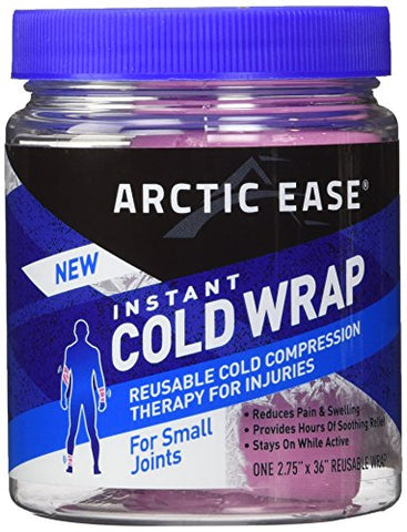 Arctic Ease Cold Wrap, Small Joint Pink 2.75x36in, 1ea 853867002430S483