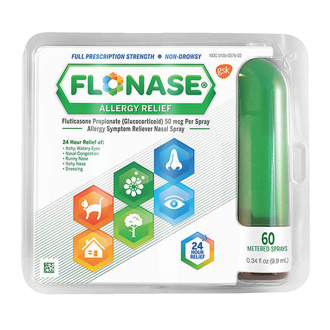 Flonase Allergy Relief Spray, 60 metered spray, 0.34oz 353100200109T1184