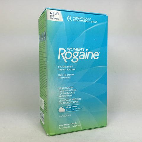 Women's Rogaine Hair Regrowth Treatment Foam, 1ct 312547780223T3745