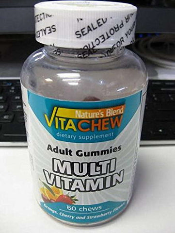 Nature's Blend Vitachew Adult Multivit. Gummies, 60ct 079854091632A479