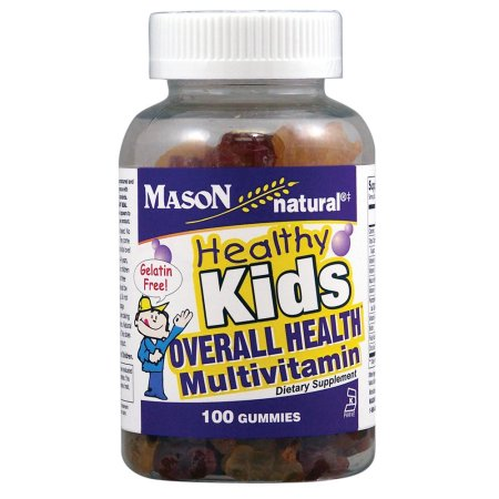 Mason Vitamins Healthy Kids Multivitamin Gummy, 100ct 311845170514A866