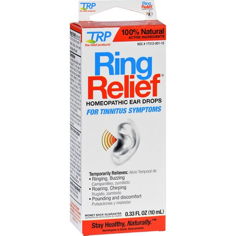 Ring Relief Homeopathic Ear Drops, 0.33oz 858961001334S699