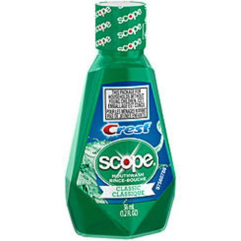 Crest Scope Outlast Mouthwash, Travel Size, 1.2ozX12ct 037000956594A948