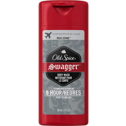 Old Spice RedZone Swager Body Wash, Travel Size, 3ozX6 037000864233A1007