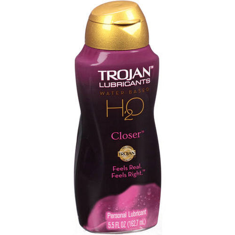 Trojan Lubricants, Water Based H2O, Closer, 5.5oz 022600000051J747