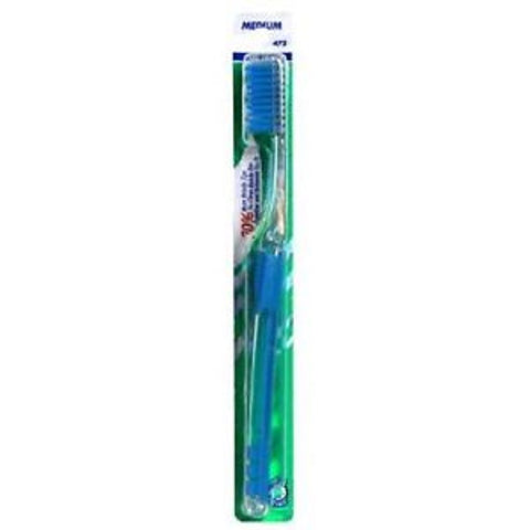 GUM Micro Tip Toothbrush, Medium/Full, 1ct 070942127462S140