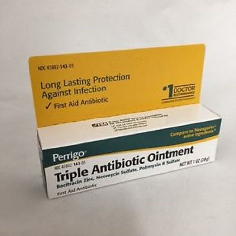 Perrigo Triple Antibiotic Ointment, 1oz 345802143037S330