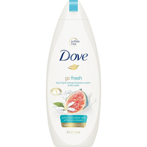 Dove Go Fresh Body Wash, Blue Fig&Orange Blossom, 22oz 011111262706A716