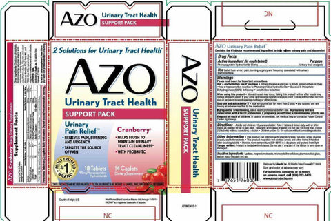 AZO Urinary Tract Health Support Pack, 1ct 787651760001S500
