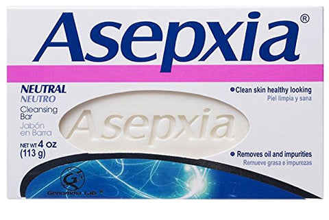 Asepxia Neutral Cleansing Bar, 4oz 650240027079A249