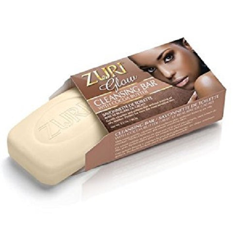 Zuri Glow Cleansing Bar w/Cocoa Butter, 3.5oz 021959170149S192
