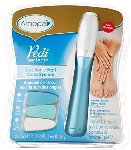 Amope PediPerfect Electronic Nail Care System Teal 1ct 051400951379A2650