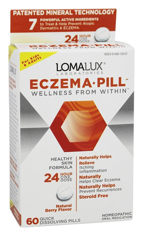 Loma Lux Eczema Pill Quick Dissolve Chewables, 60ct 361480115609T1199