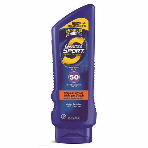 Coppertone Sport Sunscreen, SPF50, 8.75oz 041100005731G700