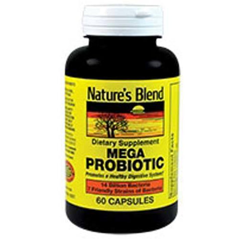 Nature's Blend Mega Probiotic Capsules, 60ct 079854092578A988