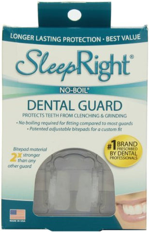 SleepRight Dental Guard, Self Adjusts To Fit All, 1ct 692121033625S1070