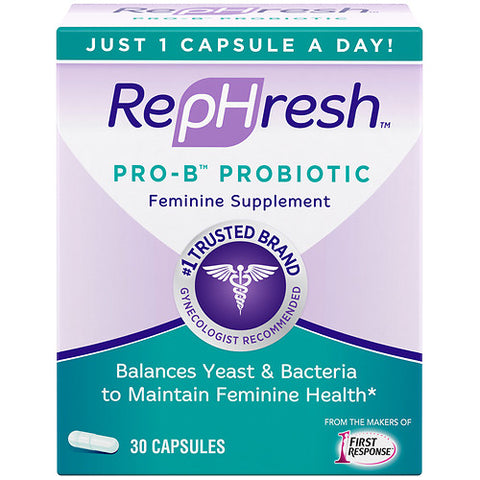 RepHresh Pro-B Probiotic Feminine Supplement, 30ct 022600001126T1949
