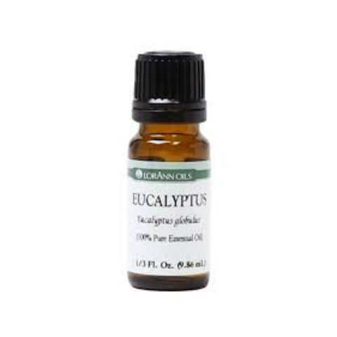 LorAnn Oils, Eucalyptus Oil, 0.33oz 023535151153S200
