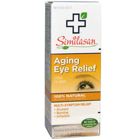 Similasan Aging Eye Relief Drops, Homeopathic, 0.33oz 094841300467A621