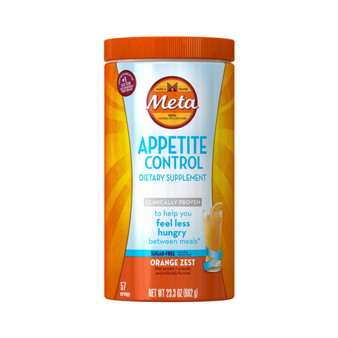 Meta Appetite Control, Orange Zest Powder, 23.3oz 037000969136T1603
