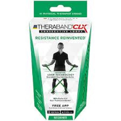Thera-Band CLX Beginner Resistance Band, 1ct 087453130072T849