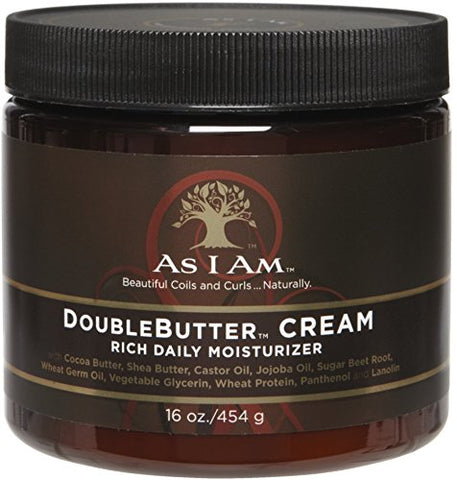 As I Am DoubleButter Cream Rich Daily Moisturizer, 8oz 858380002097A992